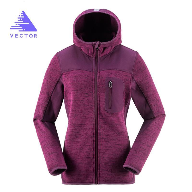VECTOR Outdoorjacke Frauen warmen Winter 100% Polyester Bodkin Fleece Camping Wandern Jacken Thermal Berg Reisen Mantel