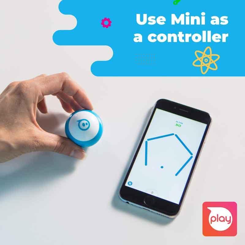 1 x freeshipping pcs de mini-app-activée balle robotisée