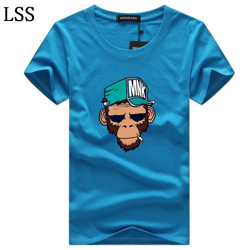 Men's T-Shirts Plus Size S-5XL Tee Shirt Homme Summer Short Sleeve Men T Shirts Male TShirts Camiseta Tshirt C-5