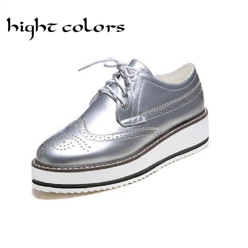 New 2020 Style Oxford Shoes For Women