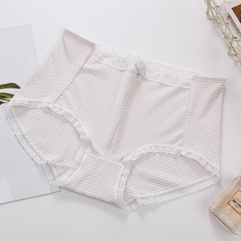 215# cotton lady's new style modal triangle thin comfortable breathable Underwear lace lace underpants head