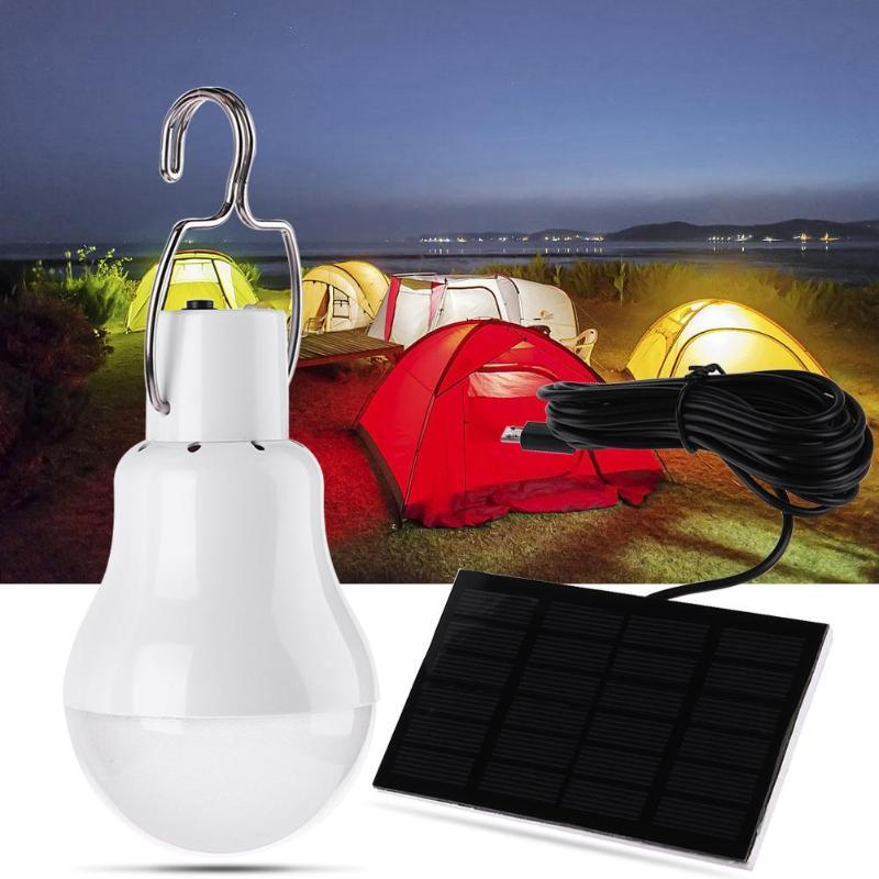 12LED 110LM Solar Lamp Powered Portable Led Bulb Light Outdoor Camping Tent Light Solar Panel Camp Tent Night Fishing