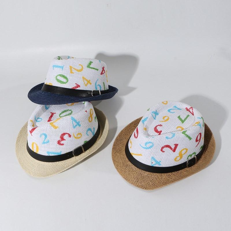 Estilo de lujo lindo de moda Primavera ala Protección de Jóvenes Hombres Mujeres Kids Party Sun novedad Jazz sombrero de paja