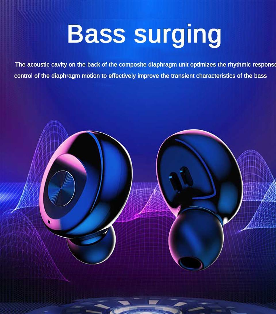 XG12 TWS بلوتوث 5.0 سماعة ستيريو لاسلكي earbus ايفي الصوت الرياضة سماعات يدوي الألعاب سماعة مع مايكروفون لآيفون 8 XS 11 برو