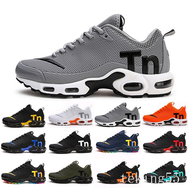 Mercurial TN Mens Designer Running Shoes 2019 Men Casual Air Cushion Dress Trainers Outdoor Best Hiking Jogging Sports Sneakers US 7-12 W-CH