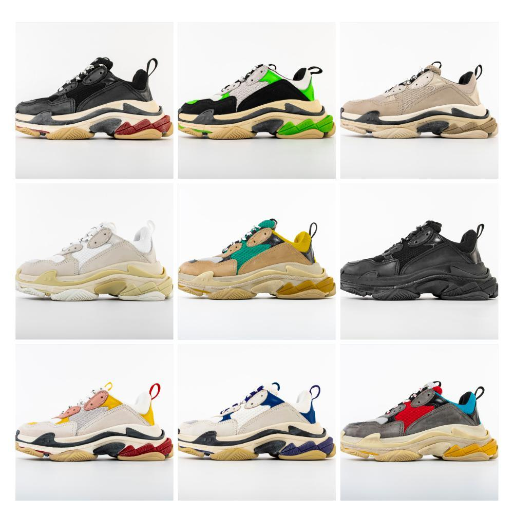 2020 aumentou qualidade sapatos novo dos homens do desenhista Paris meias sapatos altos Chaussures Moda Top respirável casuais sapatos para homens mulheres tênis