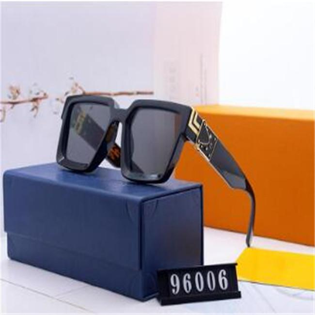 2020 Latest hot fashion men's and women's wear designer sunglasses 0937 square metal plate combination frame high quality UV400 with
