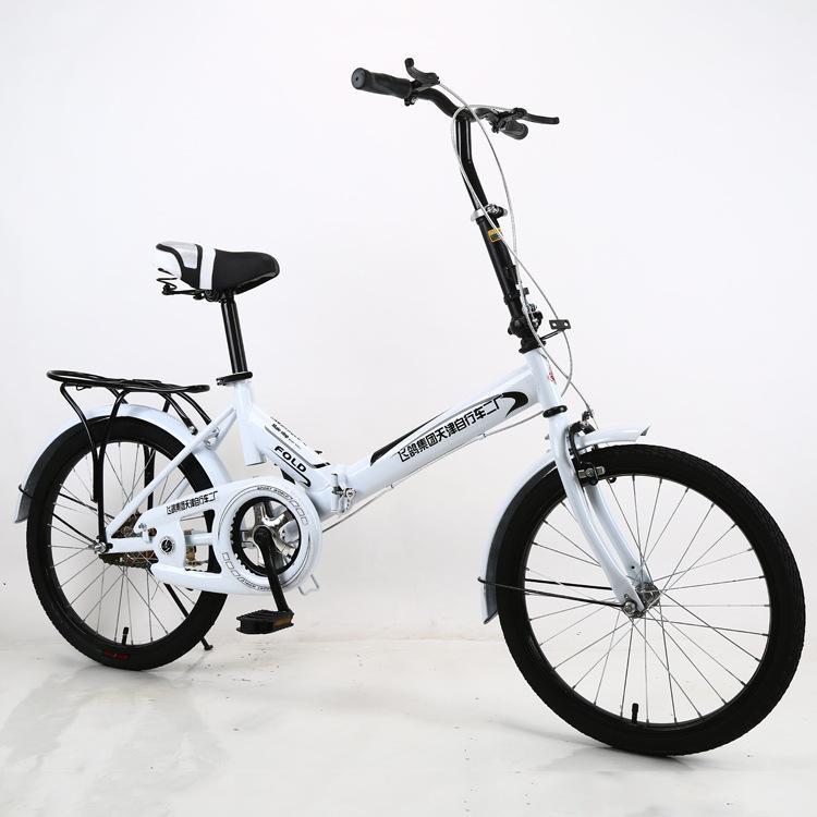 Fabrika Doğrudan 20-İnç Özel Etkinlik Katlanır Bisiklet Tek Hız Öğrenci Yetişkin Erkekler ve Kızlar Evrensel Bisiklet