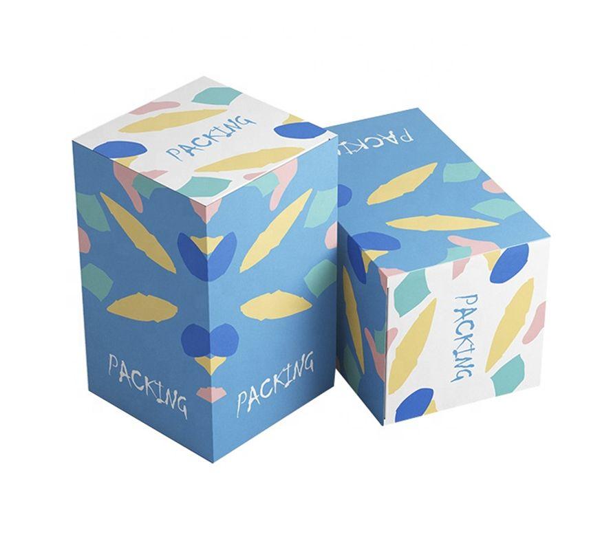 فاخر مخصص كرتون ورق التجميل مكياج العناية بالبشرة تغليف هدايا صندوق تخزين