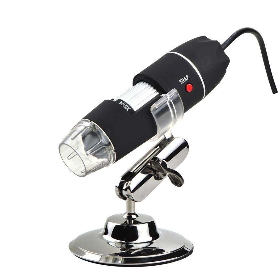 1000X Цифровой USB-микроскоп с 8 светодиодные фонари регулируемый электронный микроскоп биологический лупой 40х ~ 1000x