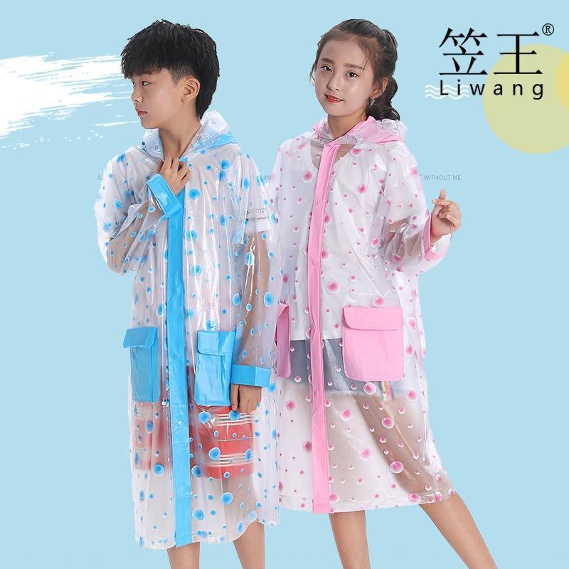 Ли Schoolbag надувной плащ Ван ПВХ Открытый Туризм детский надувной студент пончо с школьный унисекс дождевик