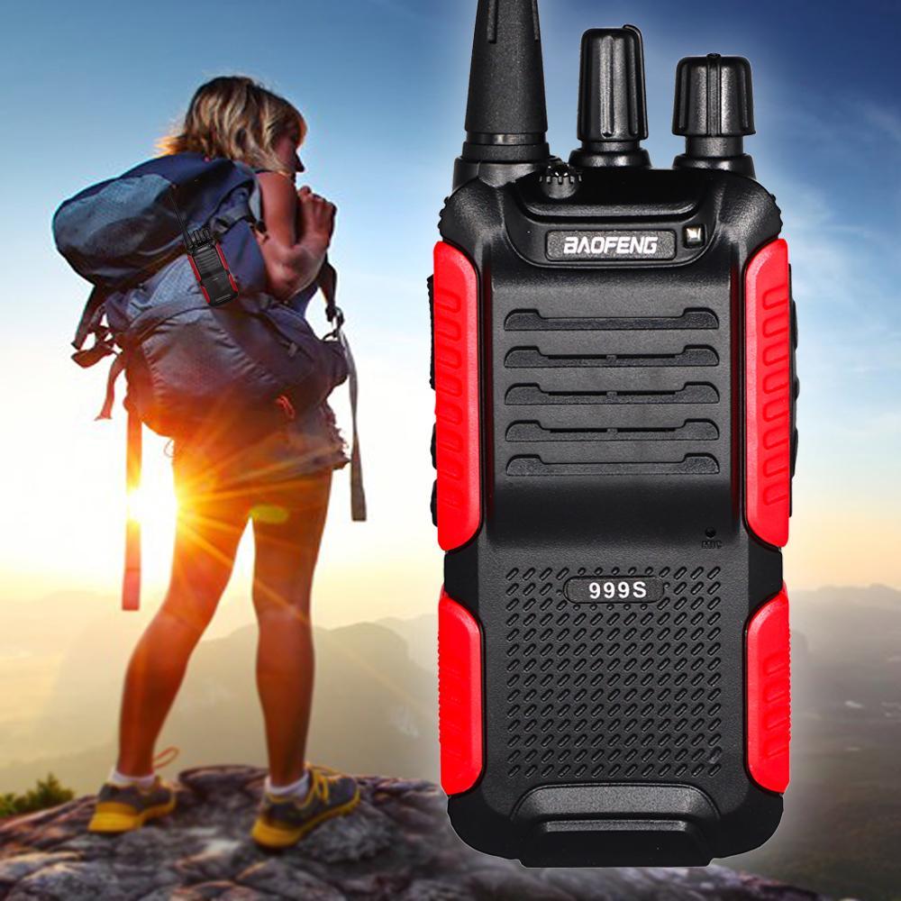 Baofeng BF-999S talkie-walkie 5W deux voies radio FM de poche BF Transceiver 999S Portable CB Ham Radio BF Upgrade 888S Comunicador