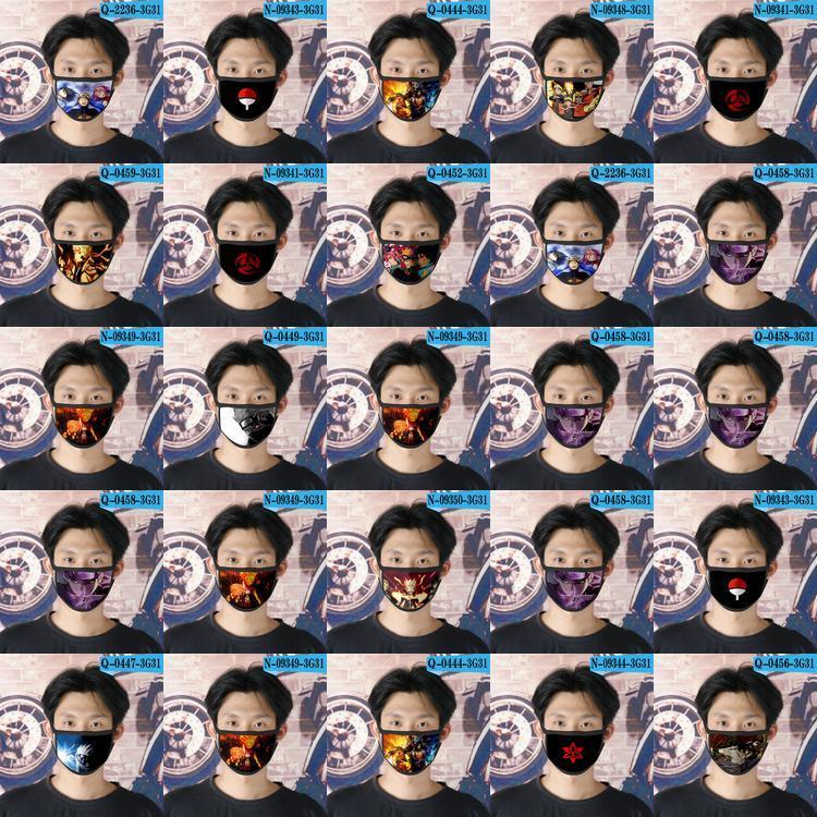 Viz Naruto Cubrebocas Designer Tapabocas wiederverwendbare Gesichtsmaske für junge Cartoon-Gesichtsmaske 17 Viz Naruto bwkf SSuCP