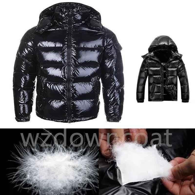 새로운 남성 캐주얼 다운 자켓 다운 코트 남성 야외 따뜻한 깃털 남자 겨울 코트 착실히 보내다 재킷 파카