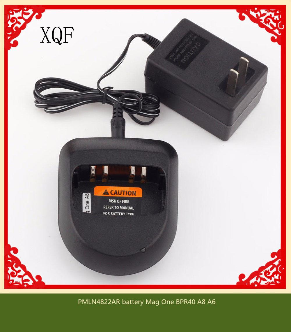 XQF Rapid-Adapter Ladegerät für MOTOROLA PMLN4822AR Batterie Mag One BPR40 A8 A6-Radio