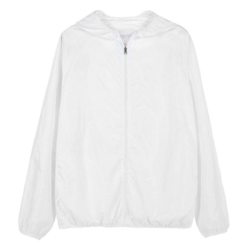 Séchage rapide Vêtements Pêche Vêtements Rash Sunscreen Polyester 6 Veste Protect Taille d'été des rayons ultraviolets Pare-soleil