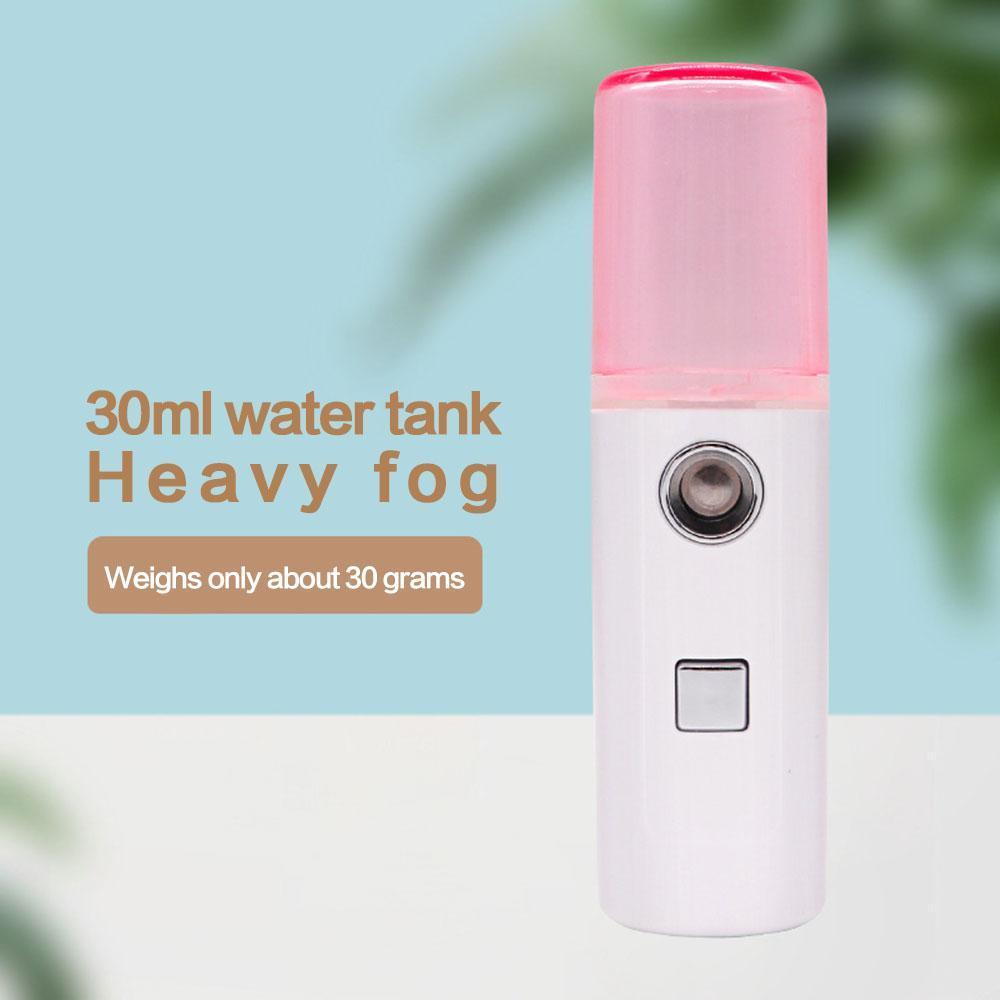 Горячие продажи: Face поток красоты спрей Ручной воды машина Увлажняющий Nano Ionic Mist Face Увлажнитель Sauna Pore лица очищающее средство