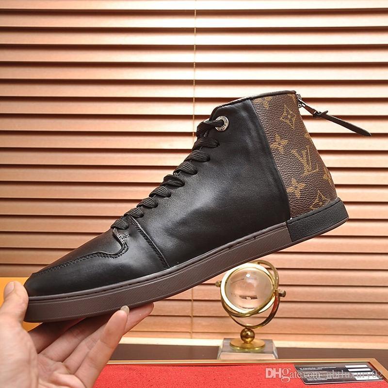 Vintage Men '; S Chaussures Chaussures pour hommes Nouvelle Arrivée Mode Chaussures de sport en plein air Marche respirant Sport Plus Size Lace -Jusqu'à Chaussures Hommes