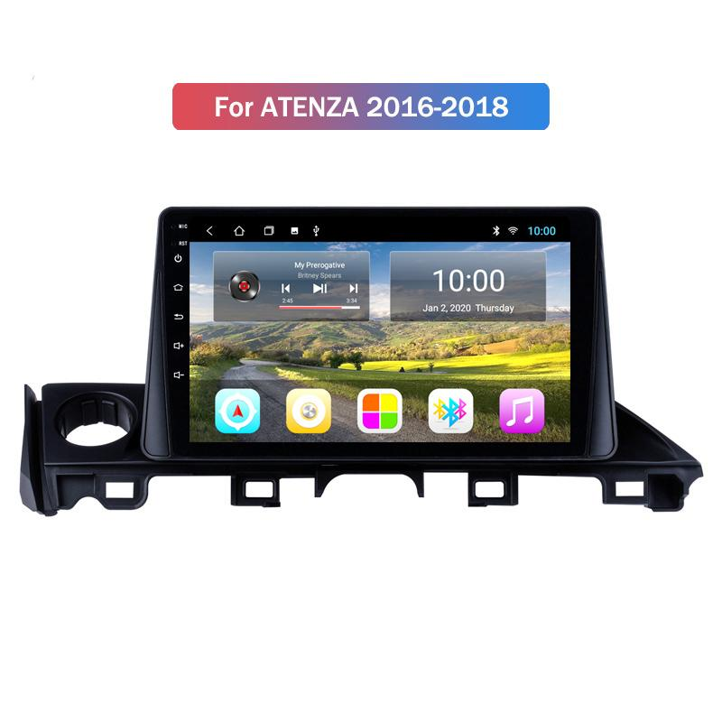 Android 9.0 Car Radio GPS Navigation DVD Player Stereo Multimedia System for Mazda ATENZA 2016 2017 2018