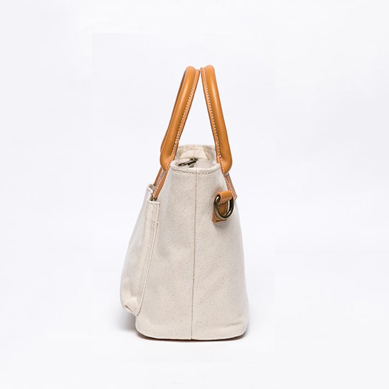 2020 große Kapazität Taschen Damen Leinwand Umhängetasche Designer Handtasche Hohe Qualität Leder Vintage Crossbody Taschen für Frauen