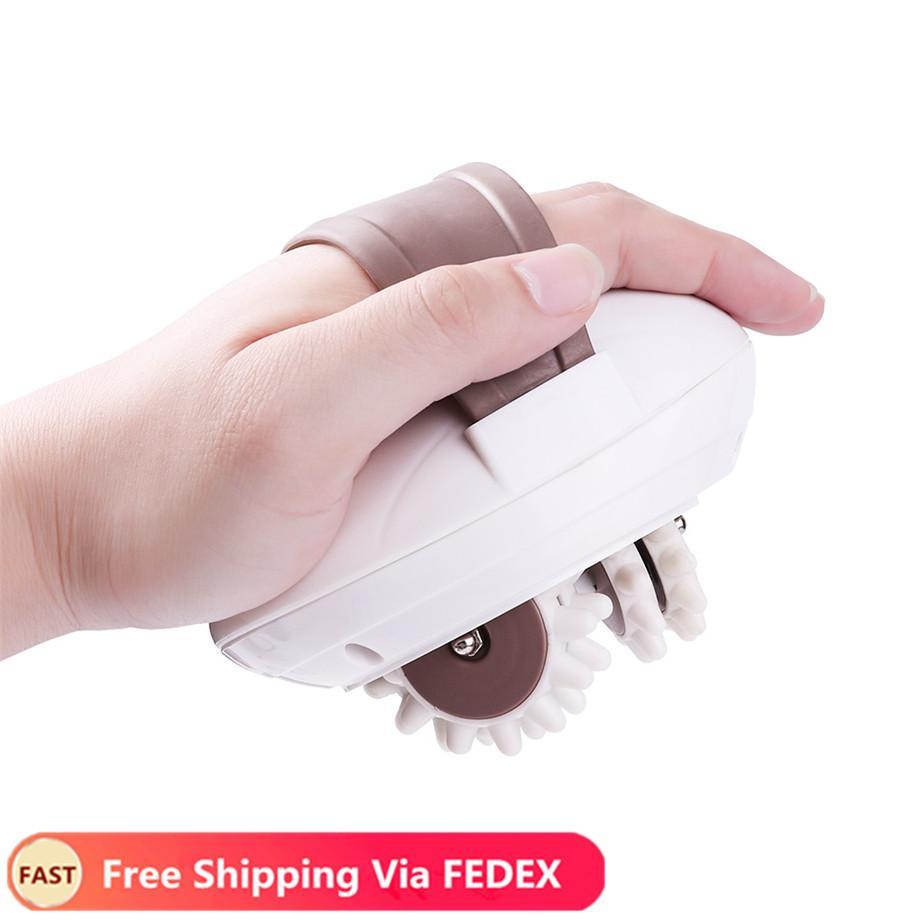 3D elétrica tambor corpo emagrecimento Massager Rolo Massagem contra celulite Dispositivo Fat Burner ferramenta emagrecimento máquina muscular Aliviar