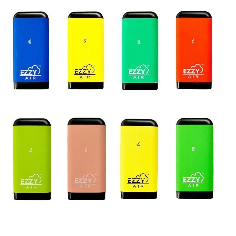 EZZY AIR Disposable Device Pod Vape Pen Kit 450mAh Battery Pre-filled 2.7ml Cartridge 500 Puffs Vaporizer With 8 Colors free dhl shipping