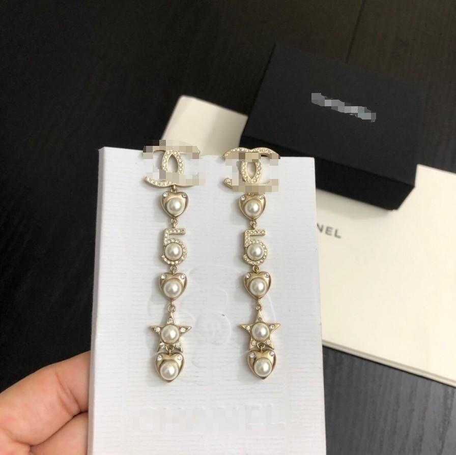 Heiße Verkauf Frauen Perlenohrring 2020 neue Qualität mit Kasten der heißen Verkauf Art und Weise schöner klassischer Schmucksachen freies Verschiffen 062455