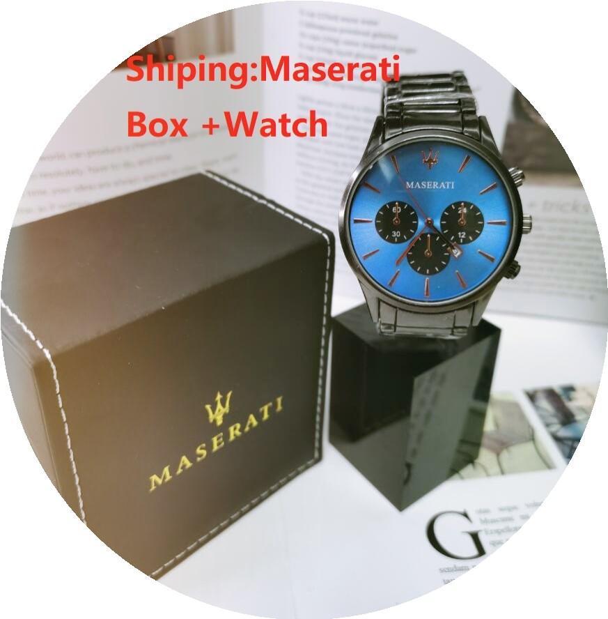 Movimento automatico Diving Watch Watches Uomo d'affari Movimento al quarzo Maschio Time Clock Designer Guarda con scatola originale