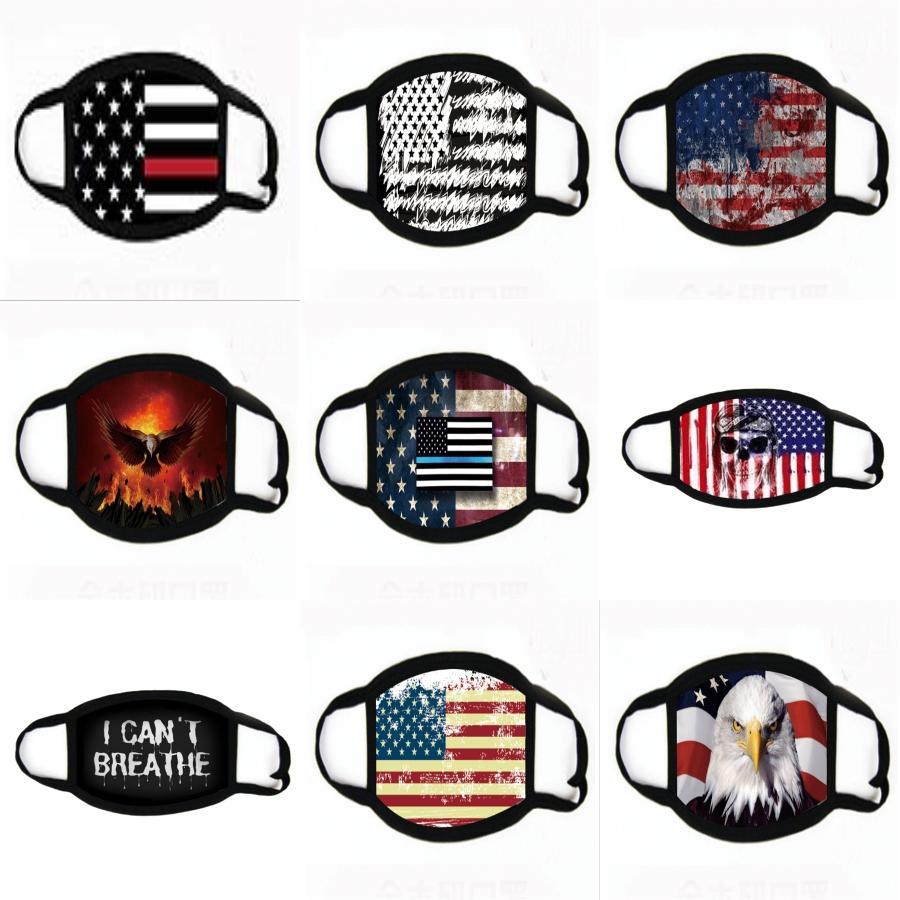 Новая Европа и Соединенные Штаты Кнопка Ins Ветер Анти Удушение маска Конструктор маска костюм Йога Спорт оголовье маска T2I5931 # 654