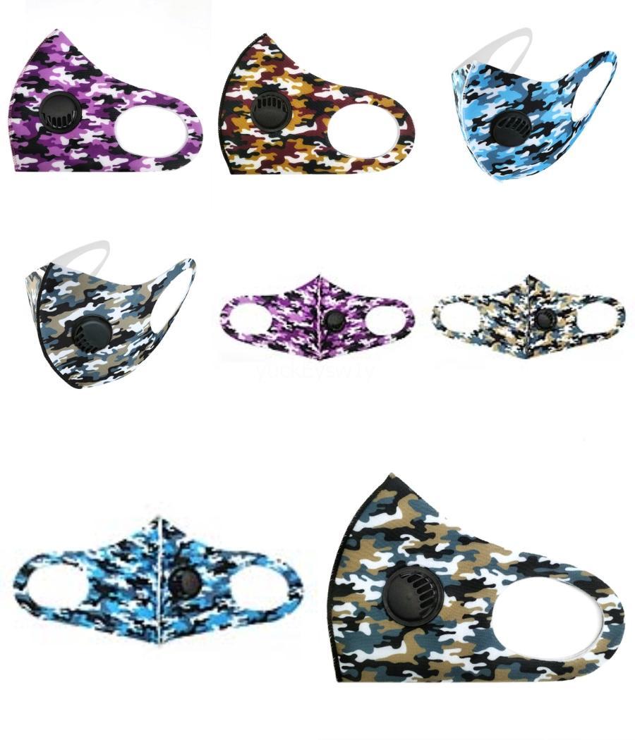 Designer Impresso Máscara Facial Máscaras Homens crânio personalidade Cara 3D Dustproof tecido de seda Moda Impressão gelo pode ser Máscaras # 743 # 463 Lavados