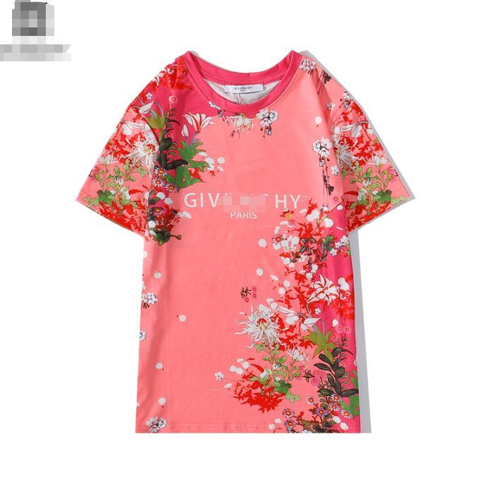 Floral G-Marken-Designer-T-Shirts Männer Frauen Tees Luxus Shirts Sommer-Blusen Trendy Street Entwerferhoodies-Luxus Jacken 2072006L