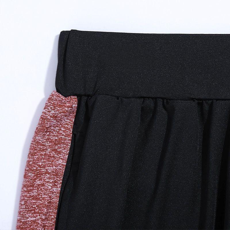 das mulheres Douyin Internet celebridade ginásio topo 55Kbt esportes de duas peças Guia terno pacote de rede de secagem rápida de manga curta esporte respirável ekjQO