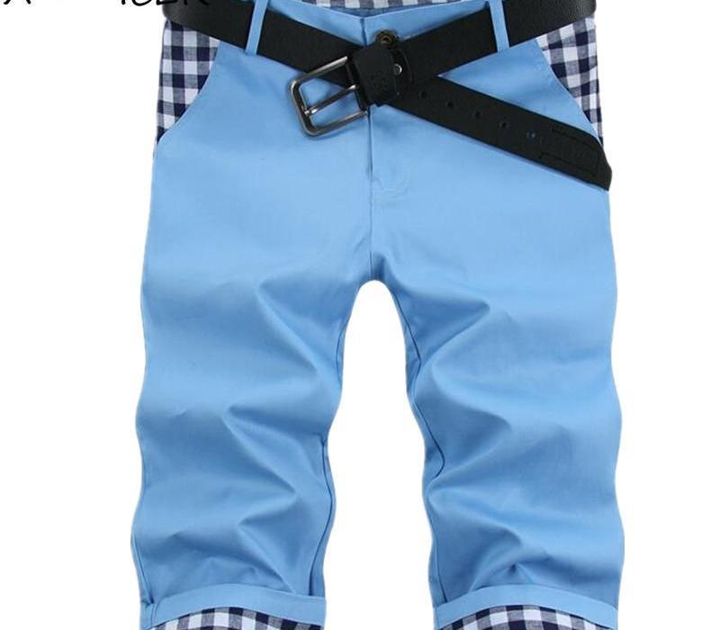 Heiße verkaufende Männer Slim Fit Shorts Summer Fashion Big Size Herren Designer Shorts Patchwork Pantalones Cortos Hombre Gelegenheits Marcas
