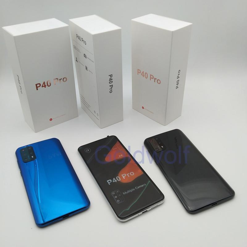 Goophone P40 프로 11Pro 최대 20U 스마트 폰 2기가바이트 + 16기가바이트 표시 가짜 4기가바이트 RAM 5백12기가바이트의 ROM 가짜 4G 쿼드 코어 안드로이드 시스템 휴대 전화