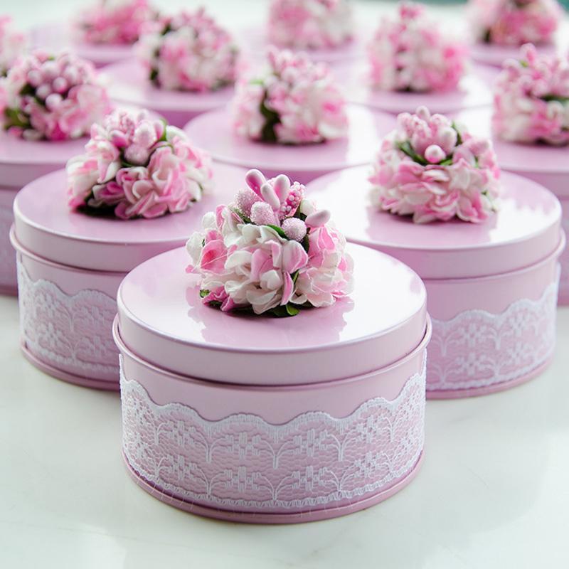 Yaratıcı Şeker Kutusu Düğün Teneke şeker kutusu yaratıcı mariage Vaftiz Doğum çikolata Hediyelik Çanta Paketleme Malzemeleri