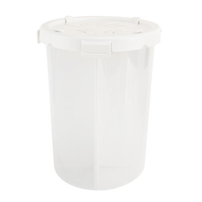Caixa de armazenamento LUDA Grande Classificação Kitchen Quatro compartimento selado Tanque de Frigorífico à prova de umidade