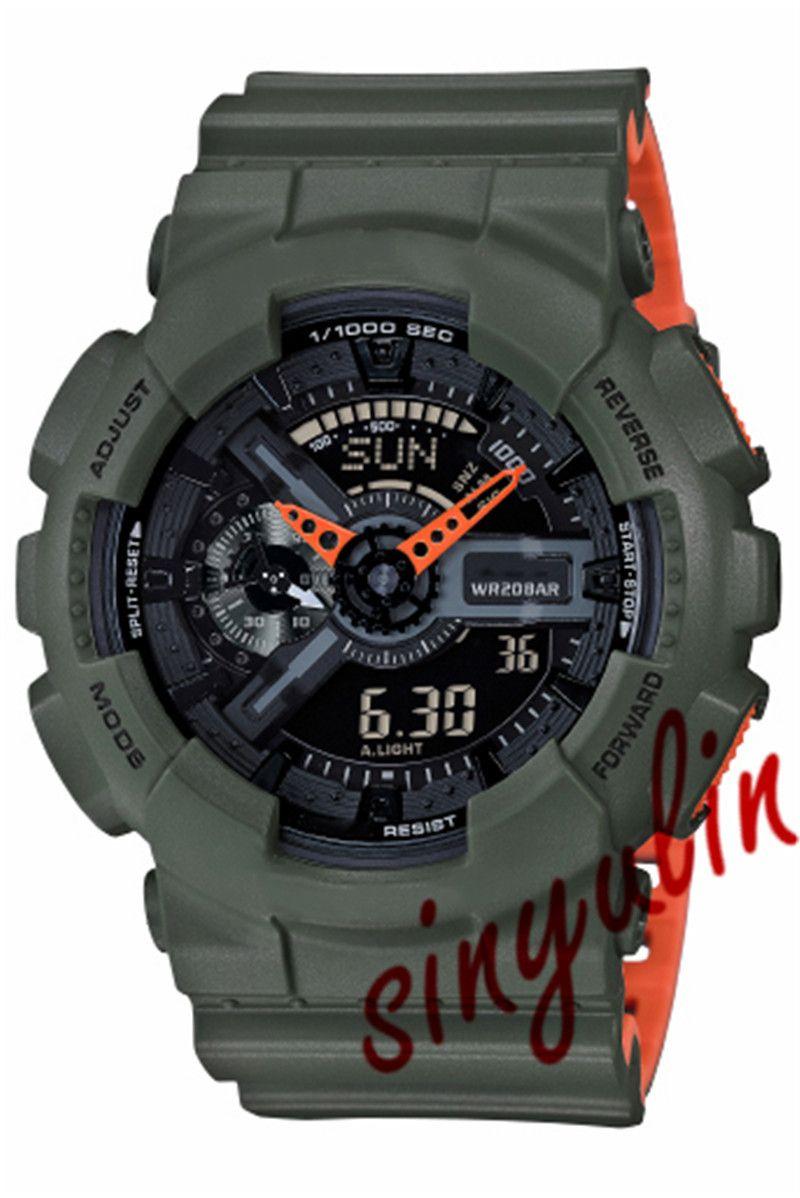 Drop Verschiffen der Männer Sport-Uhr-Männer Luxus-Designer-montre Uhren orologio g Art Schock Uhr Military Watch reloj de lujo Armbanduhren