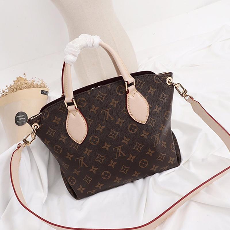 2021 Mode Frauen Leder Umhängetasche Tasche Henkel Totes Messenger Bags Damen Luxus-Designer-Tasche Handtaschen Damen Crossbody Beutel Sac Bandou