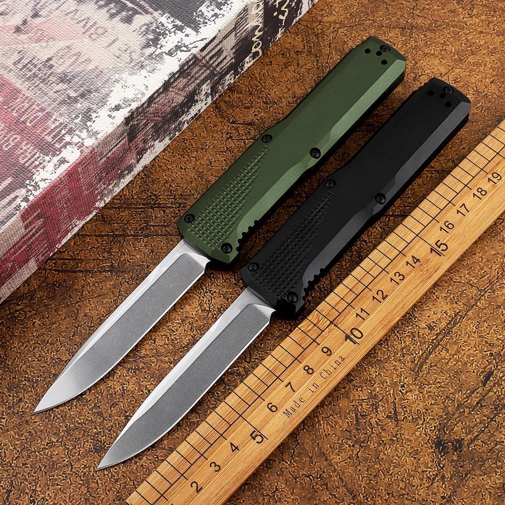 BM 4600 couteau automatique S30V auto-défense pliage double action edc camping chasse tactique couteau cadeau de Noël a3035