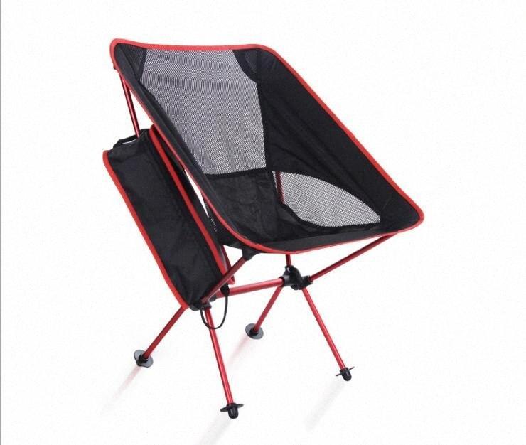 Открытый Складной Портативный Ultralight алюминиевого сплава Луны кресло для Casual Отдых на природе Рыбалка A012 EtP1 #
