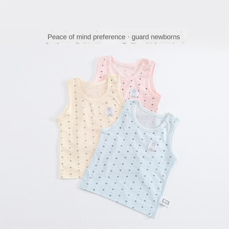Gilet Vêtements pour enfants de vêtements de gilet pur coton bébé manches mince bébé enfants
