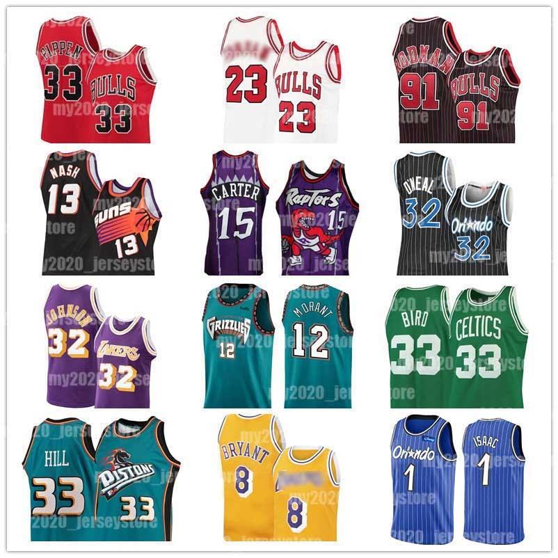 23 Michael Trikots Allen Iverson 3 Ja 12 Morant Jonathan 1 Isaac Shaquille ONeal 32 Tracy Vince Carter 15 McGrady Steve Nash 13