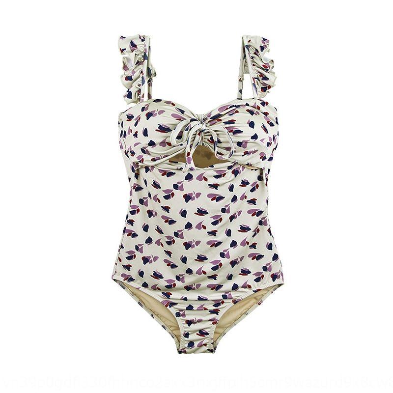 3aIZK nouveau maillot de bain une pièce de femmes coréennes swimsuitconservative ventre de rassemblement sexy bikini couvrant minceur bikini maillot de bain de source chaude