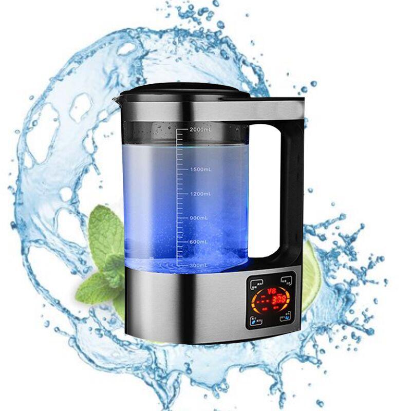 Im Jahr 2020 ist das neue kaufmännische Hotel-Edelstahl 2L-Wasserstoff-Rich-Flaschen-Alkali-Ionen-Generator-Maschinen-Wasserfilter-Getränk-Wasserstoff-Wate