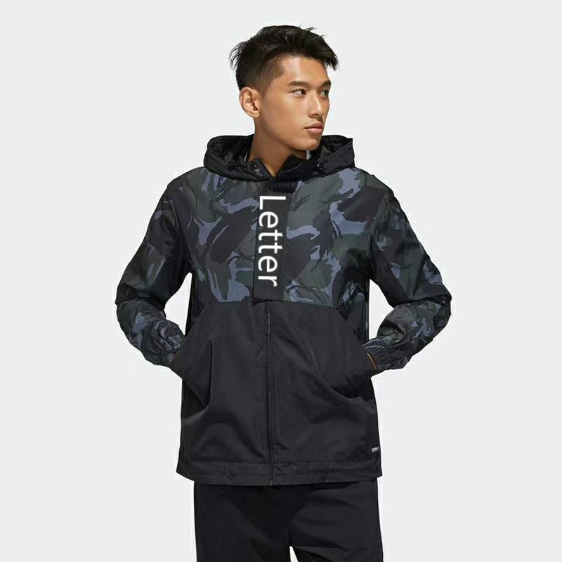Tasarımcı Erkek Ceket Sonbahar İnce Spor WINDBREAKER Moda Yüksek uç Kalite Mektupları Erkek Üst Ceket Siyah Mor Boyut XS * 3XL