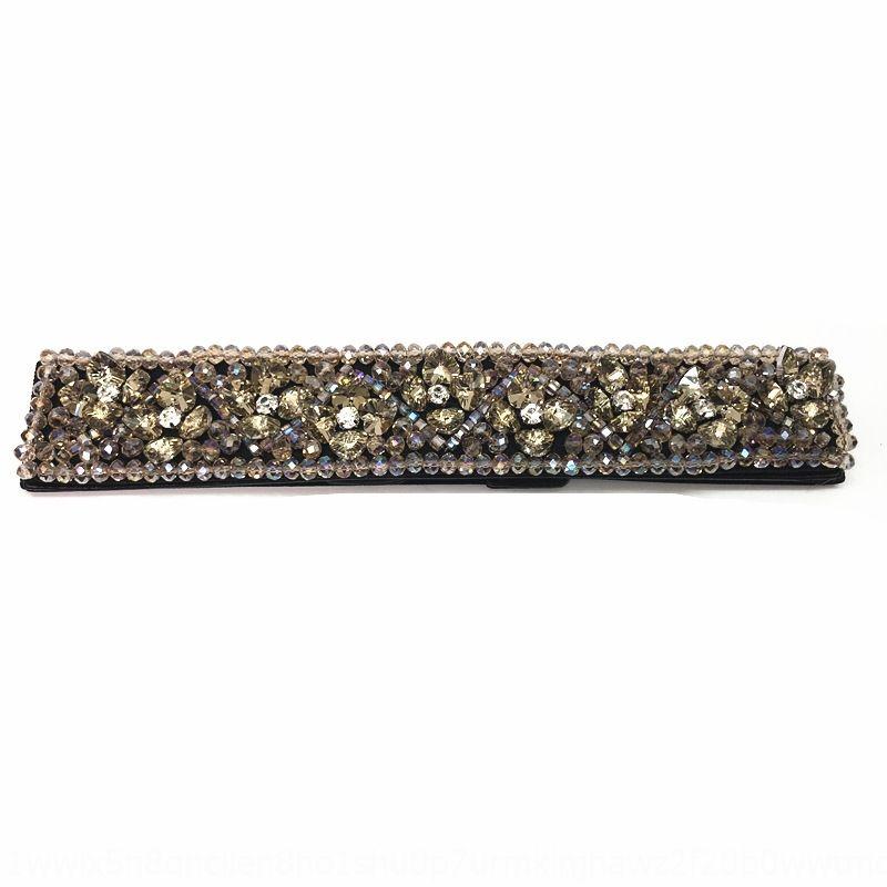 2020 heißer Verkauf neuer Kristall Kleid Rhinestonegurt Damenmode Kleid Allgleiches Kristall Gurtgummiband Taillendichtung