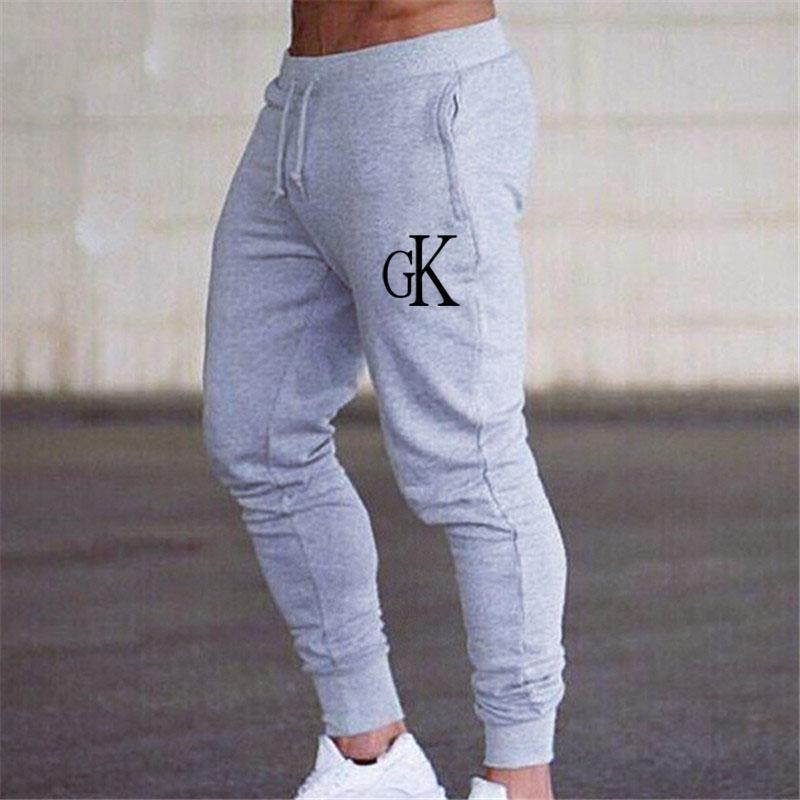 2020 winter Men's Gym Training Jogging Pants Men Joggers Slim Fit Soccer Sweatpants Cotton Workout Running Tights Sport Trousers