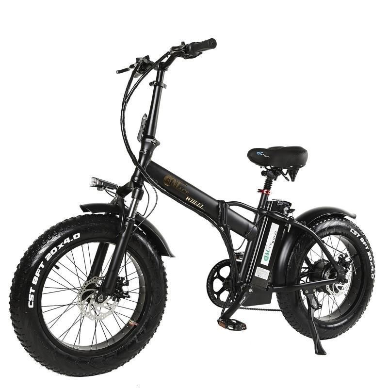 2019 Euro Lastik Gres 500W E-Bisiklet Katlanır E-Bisiklet Katlanır Alüminyum 50km / H