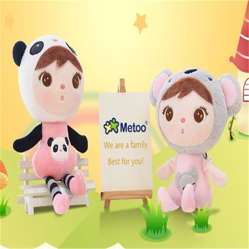 "10pcs /lot mini 20cm 8"" Cute Soft Plush Toy Angela Plush Dolls Metoo Toy Baby Girls Boys Stuffed Animal Doll Christmas Gift Z210"