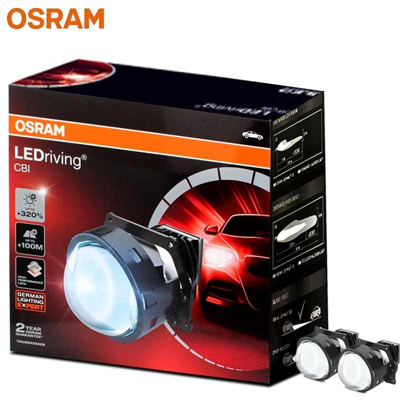 LEDriving CBI LED kit per auto immediato avvio della lampada del faro aggiornamento retrofit doppia lente vicini e lontani integrato